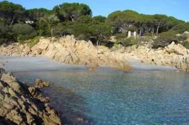 Vista spiaggia piccola